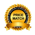 28460012 - price match guarantee gold label sign template